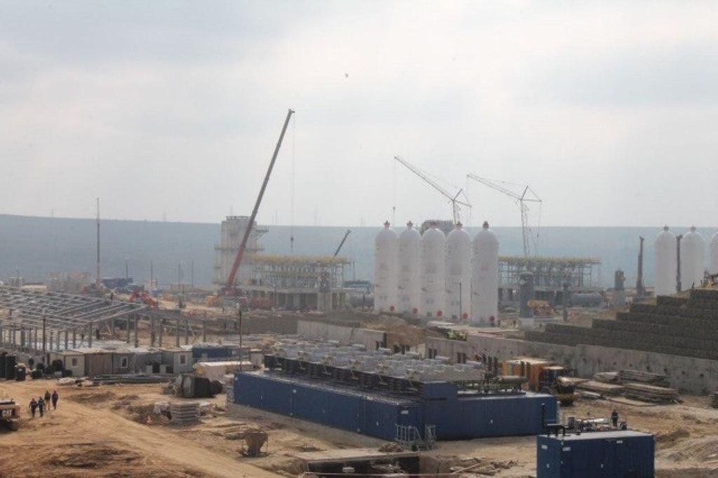 «КС «Казачья» 1-ая очередь  Южно-Европейского газопровода. Западный коридор