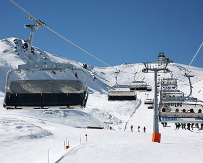 Подъемники и устройство горнолыжных трасс