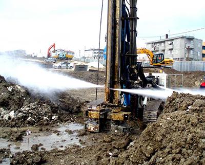 Струйная цементация грунта: технология JET