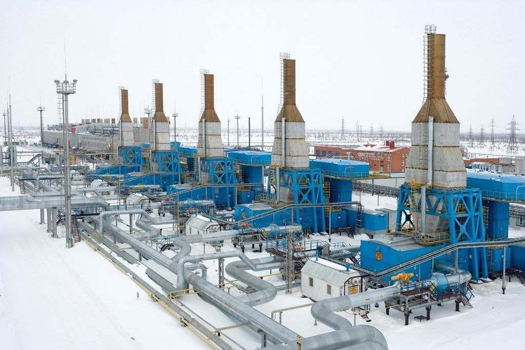 КС «Казачья» (1-ая очередь) Южно-Европейского газопровода. Южный съезд