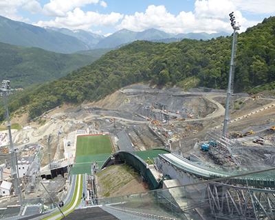 Проектирование и строительство горнолыжных сооружений