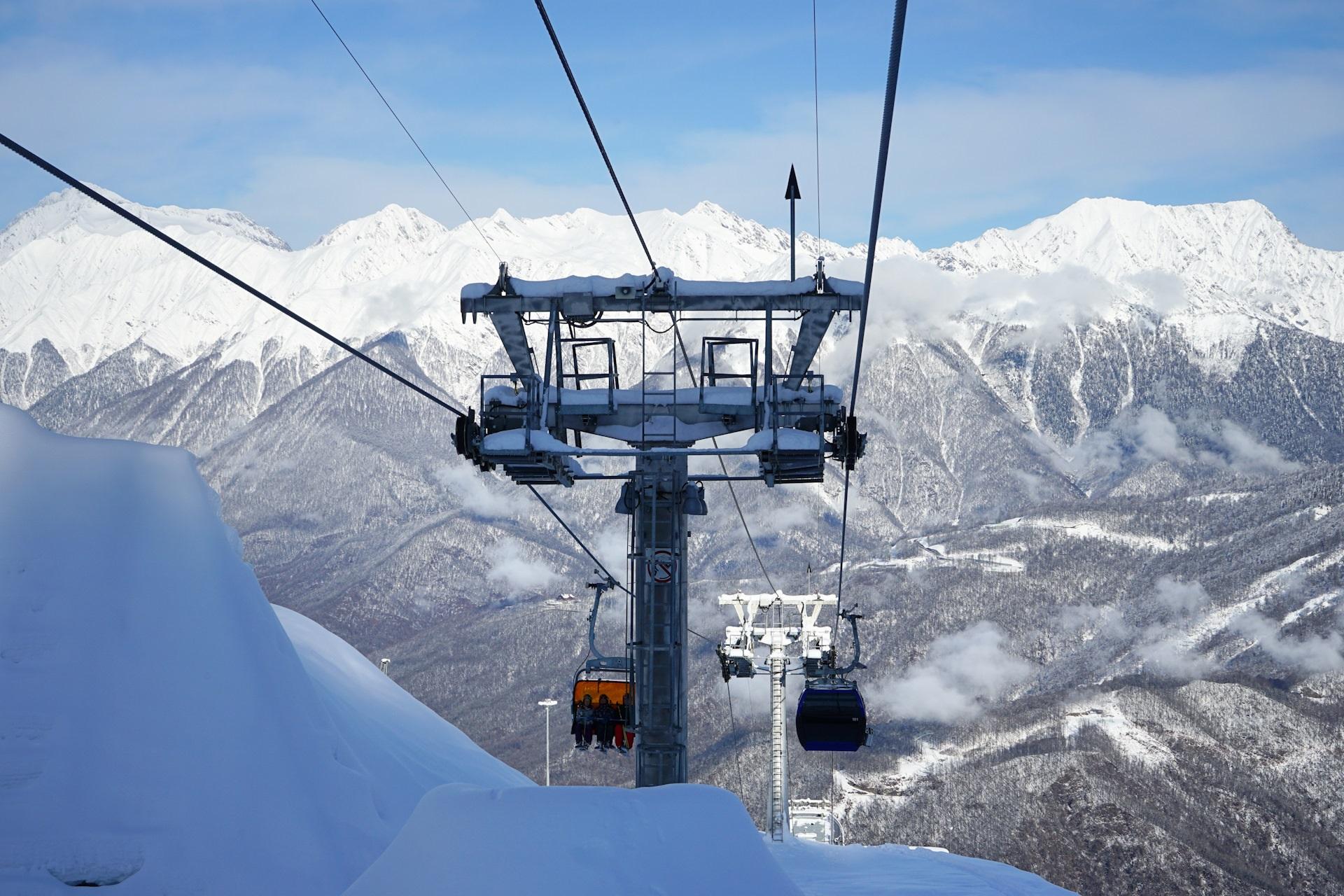 Горноклиматический курорт «Альпика-Сервис» - устройство буронабивных свай